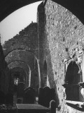 A View of a Ruined Church That Once Housed Cistercian Monks Premium Photographic Print