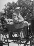 Dean of Horsey Set F. Ambrose Clark, Driving the Horse Carriage Premium Photographic Print