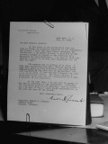 An Original Inquiry Mailed to Roosevelt Jackson Premium Photographic Print