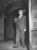 Senator Theodore G. Bilbo with a Cigar Premium Photographic Print