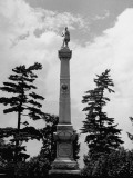 A View of a Monument from a Story Concerning Kentucky Premium Photographic Print