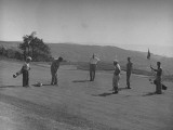 Pawling Residents Playing Golf Premium Photographic Print