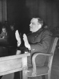 Mayor Fiorello H. Laguardia of New York City Testifying before the US Senate Premium Photographic Print