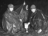 Sportsmen Using Army Clothing and Equipment on a Training Course Post War Premium Photographic Print