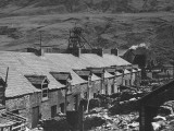 A View Showing the Uncondemned Houses at Blaen-Y-Cwm Premium Photographic Print