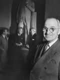 Senator Harry S. Truman Premium Photographic Print