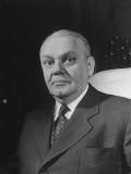 A Portrait of Provisional President Jose Linhares Premium Photographic Print