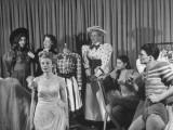 "Actor and Actresses Getting Ready to Perform in the Play, ""Annie Get Your Gun"" Premium Photographic Print"