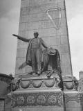 A View of a Monument to Irish Hero Charles Stewart Parnell Premium Photographic Print