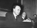 Close-Up of Senators Harry F. Byrd and Walter F. George at Meeting Premium Photographic Print