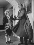 President of Marine Midland Trust Co. James G. Blaine Being Helped into Coat Premium Photographic Print