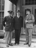 Commissioners of DC Paying their Respects to Harry S. Truman at the White House Premium Photographic Print