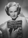 Portrait of Actress Peggy Cummins Premium Photographic Print