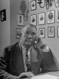 Senator Alben Barkley Sitting in His Office Premium Photographic Print