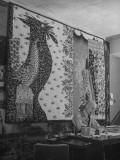 Artist Jean Lurcat Creating a Tapestry Premium Photographic Print
