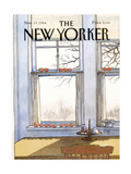 The New Yorker Cover - November 19, 1984 Reproduction procédé giclée par Arthur Getz