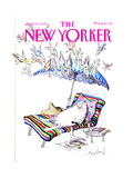 The New Yorker Cover - June 10, 1991 Regular Giclee Print by Ronald Searle