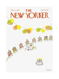 The New Yorker Cover - May 12, 1980 Giclee Print by Robert Tallon