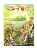 The New Yorker Cover - September 17, 1990 Premium Giclee Print by Bob Knox
