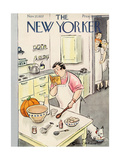 The New Yorker Cover - November 27, 1937 Giclee Print by Helen E. Hokinson
