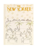The New Yorker Cover - July 9, 1979 Giclee Print by Robert Tallon