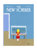 The New Yorker Cover - May 12, 1986 Regular Giclee Print by Heidi Goennel