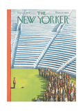 The New Yorker Cover - September 11, 1954 Giclee Print by Arthur Getz