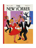 The New Yorker Cover - December 11, 1989 Giclee Print by Barbara Westman