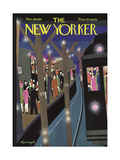 The New Yorker Cover - November 30, 1929 Premium Giclee Print by Adolph K. Kronengold