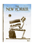 The New Yorker Cover - October 7, 1991 Regular Giclee Print by R.O. Blechman
