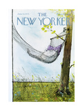 The New Yorker Cover - June 30, 1975 Regular Giclee Print by Ronald Searle