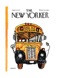 The New Yorker Cover - September 9, 1974 Regular Giclee Print by James Stevenson