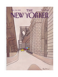 The New Yorker Cover - November 14, 1983 Regular Giclee Print by Roxie Munro