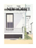 The New Yorker Cover - August 9, 1982 Regular Giclee Print by Gretchen Dow Simpson