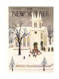The New Yorker Cover - December 18, 1948 Reproduction procédé giclée par Edna Eicke