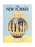 The New Yorker Cover - November 20, 1989 Giclee Print by Bob Knox
