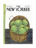 The New Yorker Cover - November 16, 1981 Giclee-trykk av Donald Reilly