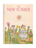 The New Yorker Cover - February 13, 1984 Giclee Print by William Steig