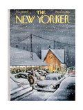 The New Yorker Cover - December 19, 1959 Giclee Print by Charles Saxon