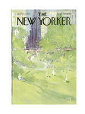 The New Yorker Cover - April 24, 1971 Regular Giclee Print by Arthur Getz