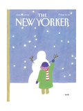 The New Yorker Cover - January 30, 1984 Regular Giclee Print by Heidi Goennel