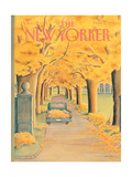 The New Yorker Cover - November 12, 1984 Regular Giclee Print by Jenni Oliver