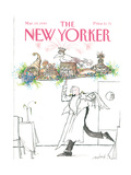 The New Yorker Cover - March 19, 1990 Regular Giclee Print by Ronald Searle