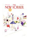 The New Yorker Cover - September 14, 1981 Regular Giclee Print by Paul Degen