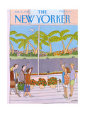 The New Yorker Cover - February 27, 1989 Regular Giclee Print by Devera Ehrenberg