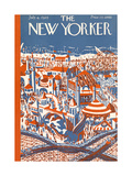 The New Yorker Cover - July 4, 1925 Regular Giclee Print by Ilonka Karasz