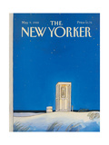 The New Yorker Cover - May 9, 1988 Regular Giclee Print by Arthur Getz