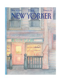 The New Yorker Cover - March 30, 1987 Giclée-Druck von Iris VanRynbach