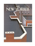 The New Yorker Cover - March 5, 1990 Regular Giclee Print by Gretchen Dow Simpson