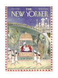 The New Yorker Cover - February 15, 1958 Regular Giclee Print by Anatol Kovarsky